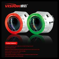 Wholesale Hot Selling Hid Bi-xenon Projector Lens Light Ccfl Angel Eyes Six color Nissan Tiida from china suppliers