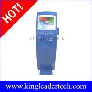 China Self-service kiosk with vandal-proof SAW touchscreen custom kiosk design TSK8016 on sale