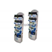 Wholesale Drinking Wine POS Cardboard Display Stands 5 Round Shelf Silver False Base from china suppliers