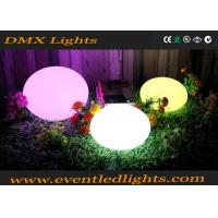 Wholesale Rechargeable LED Waterproof Ball IP68 / LED Flashing Lighting Toys Bouncing Ball from china suppliers
