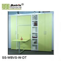 Wholesale Vertical Wall Bed Single Size Space Saving Murphy Wall Bed With Dinning Table from china suppliers