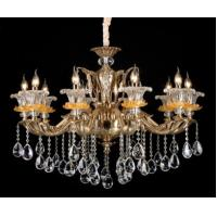Wholesale 10 Lights K9 Living Room Chandeliers Satin Purple Gold Modern Crystal Chandelier from china suppliers