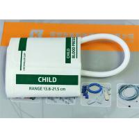 Wholesale Plastic NIBP Cuff , TPU Disposable Blood Pressure Cuffs In White Color from china suppliers