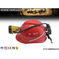 Wholesale 6.8Ah Semi Corded CREE LED Mining Light With Rear Warning Light 15000 Lux from china suppliers
