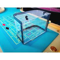 Wholesale Casino Roulette Chip Tray Roulette Table Poker Chips Box Acrylic Roulette Chip Case from china suppliers