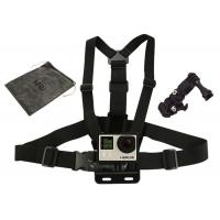 Wholesale GoPro Camera Chest Strap Harness Mounts with 3-way Adjustment Base & Bag from china suppliers