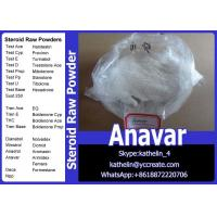Wholesale Oral Steroid Raw Powder Oxandrolone / Anavar For Homebrew Oil CAS No.53-39-4 from china suppliers