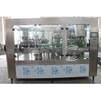 Wholesale 100% Factory Sales Industrial  Pull Ring Cover Carbonated Beverage cold Filling Machine (Monobloc Type ) from china suppliers