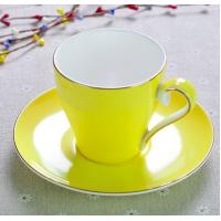 Wholesale 2018 new items Certifiction 3513 bone china colors hot plates for coffee cups ash 45% hot plates for coffee mug from china suppliers
