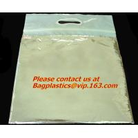 Wholesale Custom die cut handle, plastic polypropylene bag, with printing, Merchandise bags, foil from china suppliers