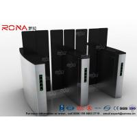 Wholesale Access Control Turnstile Security Gates Tempered Glass Sliding Material from china suppliers