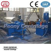 Wholesale Peony Drilling Mud Centrifuge , Large Capacity Decanter Centrifuge with Hydraulic Station from china suppliers