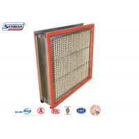 Buy cheap 250 Degree High Temp Resistant Industrial Air Purify Hepa Air Filters from wholesalers