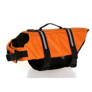 China Custom  Lightweight Dog Life Vest Orange / Neoprene Dog Hunting Vest on sale