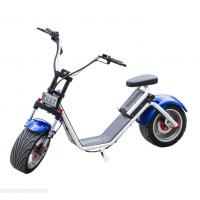 Wholesale 1200W Brushless Motor 2 Wheel E Scooter , Electric 2 Wheel Scooter Ce Listed from china suppliers