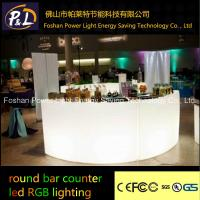 Wholesale led furniture plastic lighting table from china suppliers