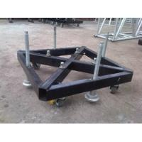 Wholesale Truss Basement Stage Truss Accessories Steel Base Plate With Wheels And Outrigger from china suppliers