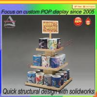 Buy cheap China factory Direct Supply Coffee Mug Cup Wooden Display Rack from wholesalers