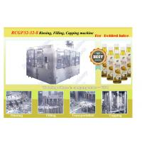 Quality High Efficiency PET Juice Bottle Filling Machine Automatic 85℃ Hot Filling Machine for sale