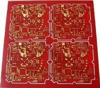 Wholesale 0.35mm Thickness 4 Layers FR4 Multilayer PCB with Half Hole Plate for Camera from china suppliers