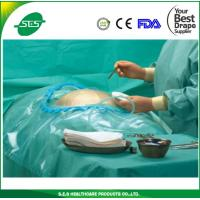 Wholesale SMS Medical Absorbent Caesarean Drape with pouch, Cesarean Drape from china suppliers