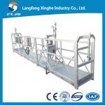 Wholesale Hot galvanized / aluminum gondola working platform / construction gondola from china suppliers