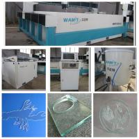 Buy cheap 3000*1500mm bridge type stone , marble mosaic,waterjet cutting machine with 420Mpa pump from wholesalers