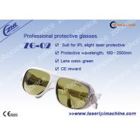 Wholesale Professional Custom Yellow Laser Protection Eyewear For Yag Laser from china suppliers