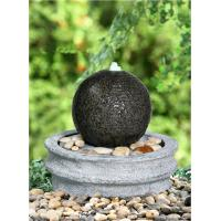 Quality Decorative Marble Ball Outdoor Sphere Water Fountains For Outdoor / Indoor for sale