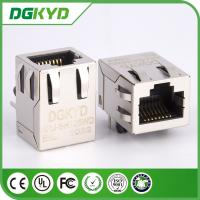 Wholesale KRJ-SH105WDENL metal shielded 100 BASE rj45 connector with magnetics from china suppliers