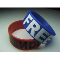 "Wholesale 1"" silicone bracelets from china suppliers"