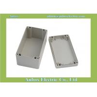 Quality 160x90x80mm light gray waterproof plastic electronic enclosures for project for sale