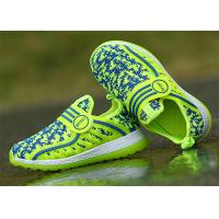 Wholesale Anti Kicking Fashion Little Kids Shoes Little Boys Sneakers Fly Woven Flyknit Mesh Upper from china suppliers