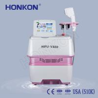 Wholesale Portable Beauty Salon Use Wrinkle Removal HIFU Face Lifting Machine 0.1-2.2J/cm2 from china suppliers