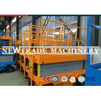 Quality Self - Propelled Vertical Scissor Lift Hydraulic Lifting Platform With CE Certification for sale