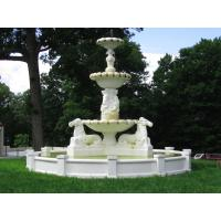 Wholesale Large Stone Fountain With Horse Statues from china suppliers
