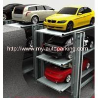 Wholesale 2-3 Cars Residential Pit Parking LiftHydraulic Garage Car Lift Home Garages Parking System from china suppliers