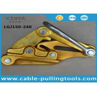 Wholesale 30KN Light Weight Aluminum alloy Wire Pulling Grip Clamp for 150-240mm2 ACSR from china suppliers