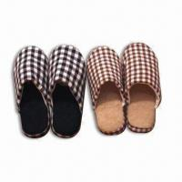 Wholesale Men's Slippers, Made of Flax, Available in Various Colors and Sizes from china suppliers