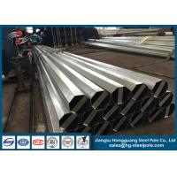 Wholesale Overlap  connection Conical galvanized Steel Poles H15m 2mm - 6mm from china suppliers