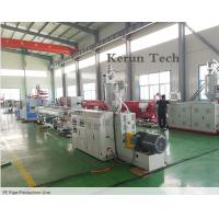 Wholesale PE Pipe Extrusion Line / Water Supply Pipe Production Machine from china suppliers
