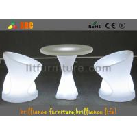 Quality Outdoor / Indoor Modern LED Bar Stools For Events 52cm x 52cm x H 65cm for sale