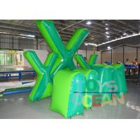 Wholesale Custom Inflatable Giant X Speedball Air Bunker Paintball Laser Tag from china suppliers