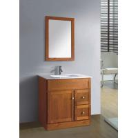 Buy cheap hot selling solid wood bathroom furniture from wholesalers