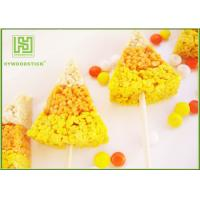 Wholesale Colorful Wooden Corn Dog Sticks , Wooden Food Sticks For Baking 100pcs / Bag from china suppliers