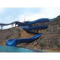 Wholesale Open Flume Spiral Water Slide Swimming Pool Water Slide For Kids from china suppliers