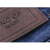 Wholesale Logo Printable Embossed Leather Patches With  Leather Clothing Labels from china suppliers