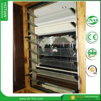 Wholesale Home Factory direct-sale tempred glass window blind/wood jalousie windows from china suppliers