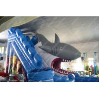 Wholesale ODM Outdoor Commercial Water Slide With Logo Printing , CE from china suppliers