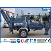 Wholesale Hydraulic 90kN 9T 330kv Conductor Stringing Equipment , High Voltage Cable Puller from china suppliers